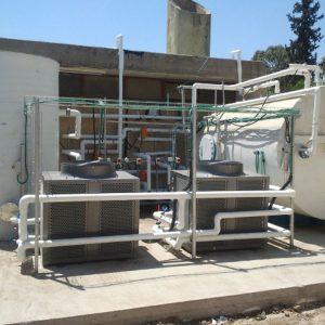 מערכת משולבת לחימום מים, מכללת גבעת וושינגטון