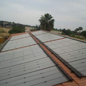מערכת סולארית לחימום בריכה, מכללת גבעת וושינגטון